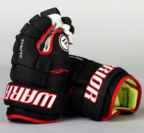 "13"" Warrior Alpha QX Gloves - Team Stock Chicago Blackhawks"