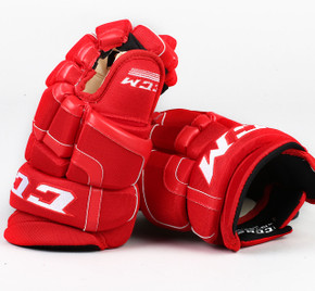 "13"" CCM HG55 Gloves - Team Stock Carolina Hurricanes"