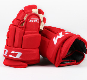 "13"" CCM HG96 Gloves - Team Stock Carolina Hurricanes"