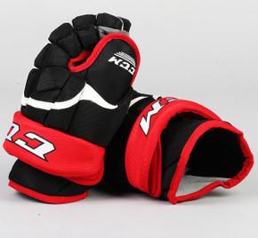 "13"" CCM HG12 Gloves - Team Stock Portland Pirates #2"