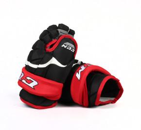 "13"" CCM HG12 Gloves - Team Stock Portland Pirates"