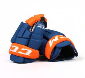 """13"""" CCM HG4RPP Gloves - Team Stock Edmonton Oilers"""