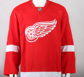 Game Jersey - Detroit Red Wings - Red Reebok Size 58