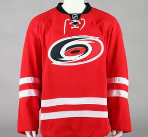Game Jersey - Carolina Hurricanes - Red Reebok Size 58