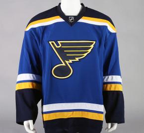 Game Jersey - St. Louis Blues - Royal Blue Reebok Size 58G