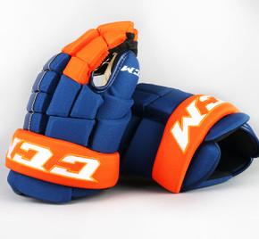 """13"""" CCM HG4RRP Gloves - Team Stock Edmonton Oilers #2"""
