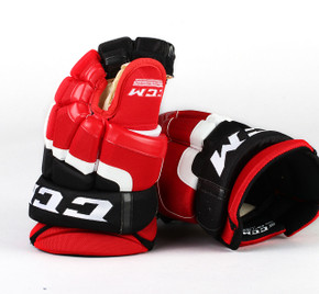 "13"" CCM HG55 Gloves - Team Stock Albany Devils"