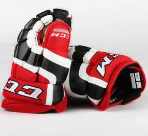 "13"" CCM HG41 Gloves - Team Stock Ottawa 67's"