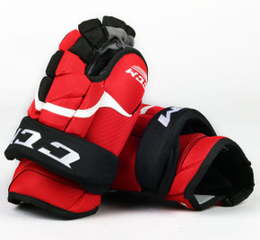 "13"" CCM HG12 Gloves - Team Stock New Jersey Devils"