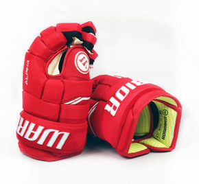 "13"" Warrior Alpha QX Gloves - Team Stock Detroit Red Wings #2"