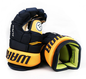 "13"" Warrior Alpha QX Gloves - Team Stock Nashville Predators"