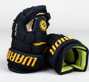 "13"" Warrior Alpha QX Gloves - Team Stock St. Louis Blues"