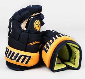 "13"" Warrior Alpha QX Gloves - Team Stock Buffalo Sabres"