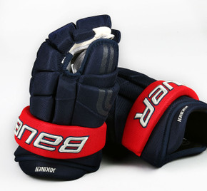 "13"" Easton 4 Roll Pro STD Gloves - Jussi Jokinen Columbus Blue Jackets"