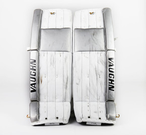 "36"" - Vaughn Velocity V5 White Pads - Jeff Zatkoff Los Angeles Kings"