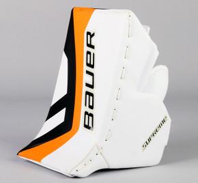 Full Right - Bauer Supreme White Blocker - Team Stock Philadelphia Flyers