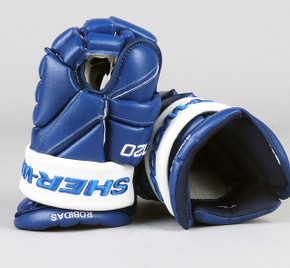 "14"" Sher-Wood T120 Gloves - Stephane Robidas Toronto Maple Leafs"