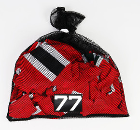 New Jersey Devils Black Laundry Bag - Various Numbers