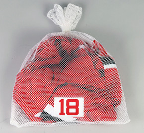 New Jersey Devils White Laundry Bag - Various Numbers