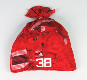 New Jersey Devils Red Laundry Bag - Various Numbers #2
