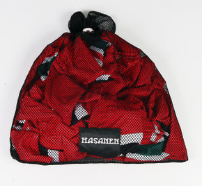 New Jersey Devils Black Laundry Bag - Pertti Hasanen