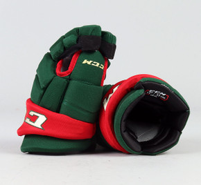 "13"" CCM HGQL Gloves - Team Stock Minnesota Wild"