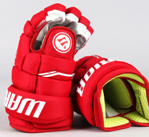 "13"" Warrior Alpha QX Gloves - Team Stock Detroit Red Wings #3"