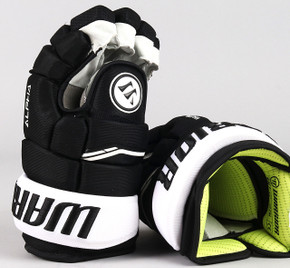 "13"" Warrior Alpha QX Gloves - Team Stock Pittsburgh Penguins"