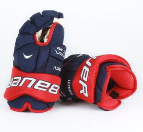 "14"" Bauer Vapor APX Pro Gloves - Mark Letestu Columbus Blue Jackets"