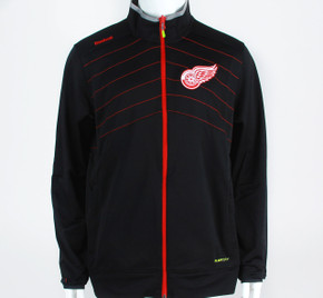 Detroit Red Wings Center Ice PlayDry Full Zip Warm-up Jacket