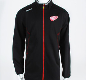 Detroit Red Wings Center Ice Fleece Lined Full Zip Warm-up Jacket