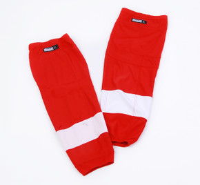 Game Sock - Detroit Red Wings - Red Reebok Size XL #2