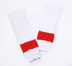 "Game Sock - Detroit Red Wings - White CCM Size 30"" #2"