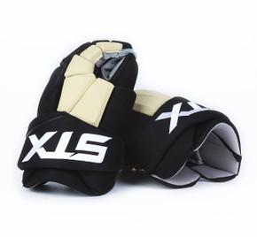"""15"""" STX Stallion 500 Gloves - Team Stock Pittsburgh Penguins #2"""