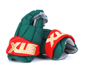 "14"" STX Stallion 500 Gloves - Team Stock Minnesota Wild"