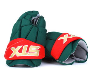 "15"" STX Stallion 500 Gloves - Team Stock Minnesota Wild"