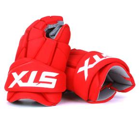 """15"""" STX Stallion 500 Gloves - Team Stock Detroit Red Wings"""