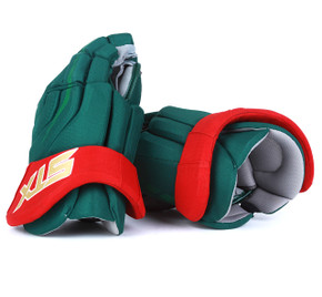 "15"" STX Surgeon 500 Gloves - Team Stock Minnesota Wild"