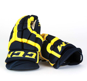 "14"" CCM HG55 Gloves - Team Stock University of Michigan"