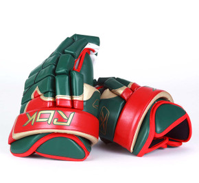 "14"" Reebok Pro Gloves - Team Stock Minnesota Wild #2"