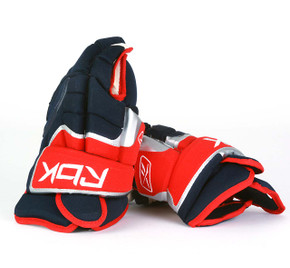 "14"" Reebok HG10KN Gloves - Team Stock Columbus Blue Jackets"
