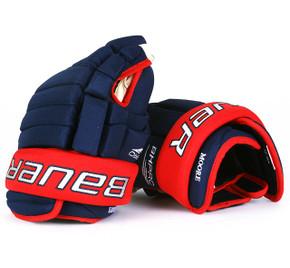"13"" Bauer BH Pro Gloves - John Moore Columbus Blue Jackets"