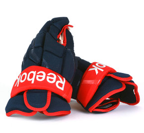"15"" Reebok HG10KN Gloves - Team Stock Columbus Blue Jackets"