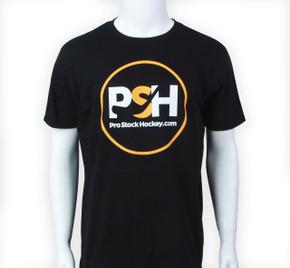 Pro Stock Hockey Black T-Shirt