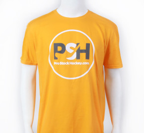 Pro Stock Hockey Yellow T-Shirt