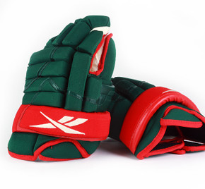 "14"" Reebok Pro Gloves - Team Stock Minnesota Wild"