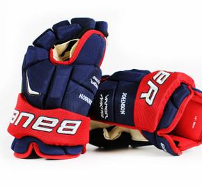 "14"" Bauer Vapor APX 2 Gloves - Jack Johnson Columbus Blue Jackets"