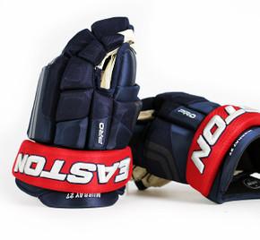 "14"" Easton 4 Roll Pro NRW Gloves - Ryan Murray Columbus Blue Jackets"