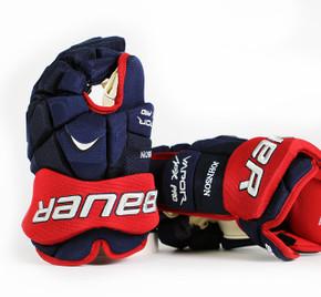 "14"" Bauer Vapor APX Pro Gloves - Jack Johnson Columbus Blue Jackets"