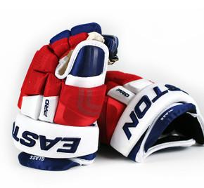 """14"""" Easton 4 Roll Pro STD Gloves - Tanner Glass New York Rangers"""